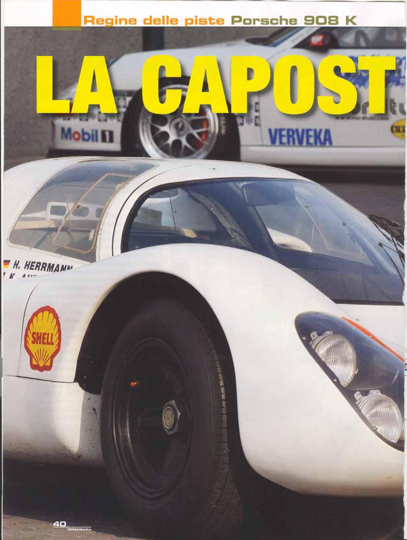 Porsche 908 Kurzhech (Grace classic cars, 11/2008, It) | Porsche ...